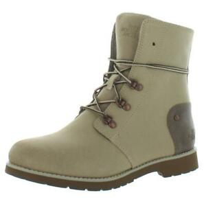 The North Face Womens Ballard Lace ll Leather Ankle Boots Outerwear BHFO 8977