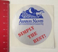 Autocollant/sticker: Arabian Nights-spectacular dîner spectacle physical (11041695)