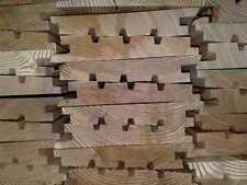 Lärche Fassadenprofil, Keilstülpschalung, N&F, 26 mm, 4 m, 19.00 €/m2 IN 5289