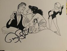 BARRY BOSTWICK Signed Al Hirschfeld Print NICK AND NORA Broadway