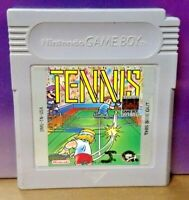 Tennis  - Nintendo Game Boy Color GB Rare TESTED GBA Advance GBC