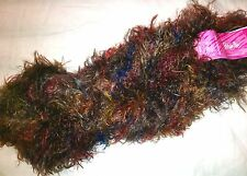 COPPER BEECH Colinette SILKYCHIC Hand-Dyed Nylon X-SOFT Painterly Eyelash YARN