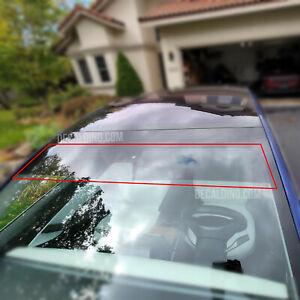 Windshield Visor Tint for 2017+ Tesla Model 3 - Precut Film UV IR Guard