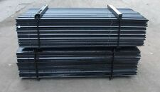 Star Pickets BLACK Steel Fence Post 900mm/90cm 10 pack