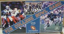 1987 VCR College Bowl Game Bo Jackson