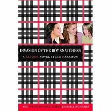 The Clique: Invasion of the Boy Snatchers 4 by Lisi Harrison (2005, Paperback)