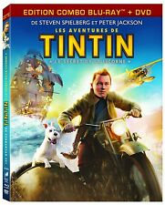 The Adventures Of Tintin - Secret Of The Unicorn (BluRay+ DVD) New and Sealed