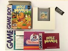 MOLE MANIA Game Boy GIG Pal ITA