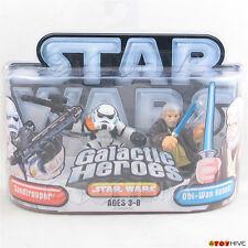 Star Wars Galactic Heroes Obi Wan Kenobi and Sandtrooper 2 figure pack
