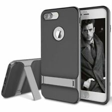 Silver Mobile Phone Hybrid Cases for Apple