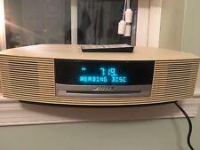Bose Wave Music System AM/FM Radio Alarm Clock CD Player AUX Model AWRCC2