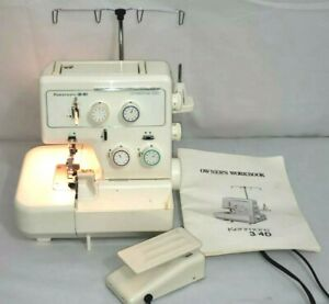 Kenmore 3/4D Differential Feed Serger Sewing Machine 1664190 w/Manual TESTED