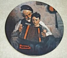"Knowles Norman Rockwell Plate ""The Music Maker"" 1981 Limited Edition - New"