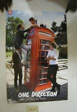 One Direction Plakat Nehmen Me Heim Gruppe Shot Rot Handy Box Ungebraucht 24x36