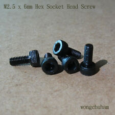 M2.5 x 6mm Hex Socket Head Screw - 50 PCS