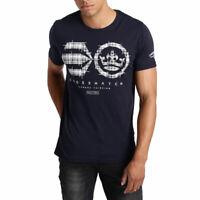 Crosshatch Mens T-Shirt Crozhatch Short Sleeved Top 2019 Summer
