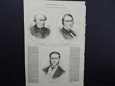 Illustrated London News Full-Page S8091 Dec 1871 John Lowe, M.D. of Lynn Regis