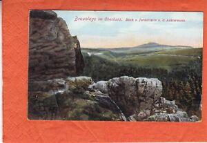 Braunlage - Jermerstein - Lithographie? - gelaufen 1912