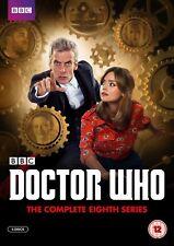 Doctor Who la Completa Octavo Serie 8 8th Temporada 8 Eight Dr Sellado