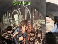 Savatage – Sirens LP 1985 Combat – MX 8018 VG/EX