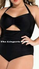 Unbranded Hand-wash Only Plus Size One-Piece Swimwear for Women