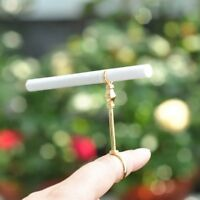 Women Men Metal Cigarette Holders Finger Hand Rack Stand Smoking Ring Retro Gold
