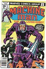 Marvel Comics Machine Man Issue #1 (Apr 1978, Marvel)