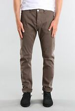 Rusty Indi Slims Men Slouch Rise Narrow leg Flipside Pants Gravel Size W34