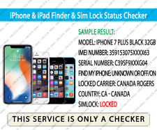 Check IMEI iPhone & iPad Network Finder & Sim Lock Status GSX Checker