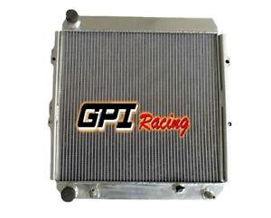 For Toyota Land Cruiser LJ70/71/73/77/78 2LTE 2.4TD AT 90-1993 Aluminum Radiator