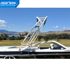 Reborn Launch X Wakeboard Tower Polished Fast Install & Fold Down