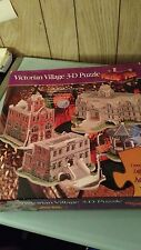Victorian Village 3-D Puzzle -PUZZLE PLEX- ADVANCED 800 Pieces NEW