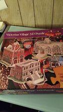 Victorian Village 3-D Puzzle -PUZZLE PLEX- ADVANCED 800 Pieces NEW
