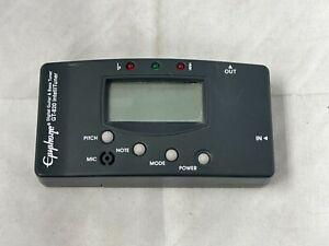 Epiphone Digital Guitar and Bass Tuner GT-820 Intellituner
