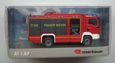Wiking 1:87,Rosenbauer MAN AT Feuerwehr Vorführfahrzeug DE, Sondermodell, OVP