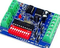DMX512 Decoder 4CH Channel 16A RGBW Controller LED stage lighting CMOS Output
