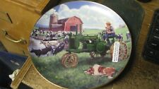"collector plates, danbury mint, ""days of splendor"", nib, free shipping"