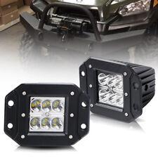 Wild Boar Polaris Ranger Mid-Size Front Bumper LED Cube Fog Light Bar 3inch 2Pcs
