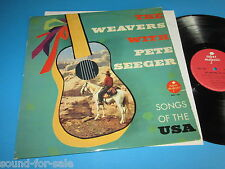 The Weavers with Pete Seeger/canzoni of the USA-LP