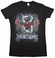 Scorpions Band T-shirt - Black - Women Size Medium - MD