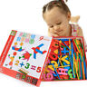 Kids Educational Montessori Wood Toys Jigsaw Shapes Numbers Learning Fun Puzzles
