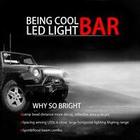 21'' INCH 288W 54 / 55 cm Work Light Bar Flood Spot Driving Lamp Offroad 28800LM