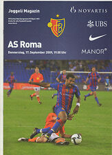Orig.PRG   Europa League  2009/10   FC BASEL - AS ROM  !!  SELTEN