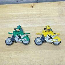 Hot Wheels HYPER WHEELS Motorcycle Racing 2 Motorcycles Mattel #34 #7
