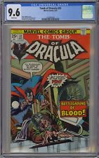 Tomb of Dracula #32 CGC 9.6 NM+ Wp Vs. Quincy Harker Marvel Comics 1975 RARE GEM