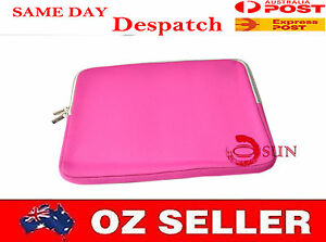 """Pink 13 13.3 13"""" 13""""3 inch Macbook Pro Air Laptop Sleeve Carry Case Pouch COVER"""