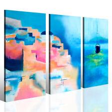 Stampe su tela Santorini abstract quadri moderni grecia