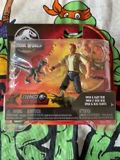 "Jurassic World Owen & Baby ""Blue"" Action Figures NEW Mattel Dinosaur 3.75"" NEW"