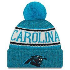 Carolina Panthers Beanie Sideline 2018 NFL FOOTBALL NEW ERA Berretto Inverno Bobble
