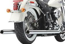 Cobra Softail Dual Exhaust System with Billet Tips 6986